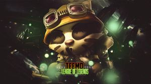 Teemo League of Legends | Signature | Photoshop by CagBcn