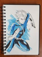 Day 123 Quicksilver by TomatoStyles