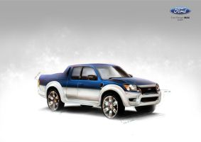 Ford Ranger MAX Custom by primayoga