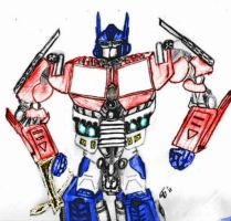 Generation One Prime and Live Action Prime Mix by Byrdman-08