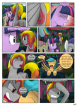 MLP FIM STARS Chapter-4 Stickers Page-65 by MultiTAZker