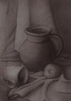 Academic drawing by Irkis