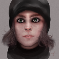 Ville Valo Portrait by TheCatThatFlys