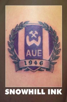 Wismut Aue Football Team Logo by toe-art
