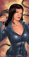 $20 Bust Commission: Sydney Savage for Jim by johnbecaro