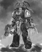 Space Marine WIP 3 by Nowio
