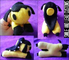 Laying Mawile Plush by SmileAndLead