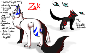 Zak Reference by VanitoKuyra