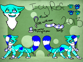 Icy Ref 2013 PLEASE READ DESC. by Frozen-Icicles