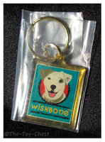 Wishbone - Brass Keychain by The-Toy-Chest