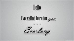 Everlong - Foo Fighters by ThisDestroys