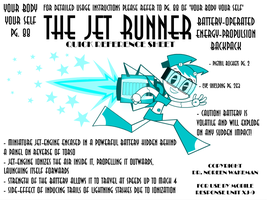 The Jet Runner by MLaaTRScribbles
