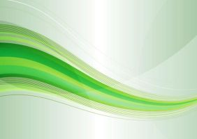 Abstract Modern Green Wave Background Vector Graph by freebiespsd