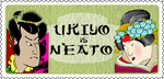 Ukiyo e stamp by QuicheLoraine