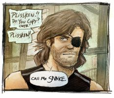 Call Me Snake... by GarrettByers