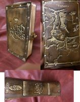 Lord of the Rings Book Purse by davevdveer