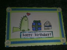 Candy TMD Bday Card by PossumPip-Creations