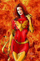 The Dark Phoenix 2.0 by portfan