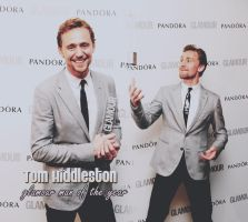 Tom Hiddleston - glamour man of the year by slaveformusic