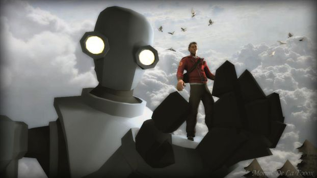 The Iron Giant by MorintDeLaFooox