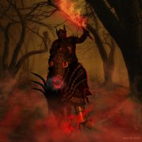 The Rider by Shawn-Morrill