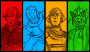 Forever Comics banner by AlanSchell
