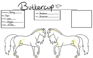 Buttercup by gyngercookie
