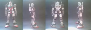 [KIM]RX-78-1 Prototype Gundam papercraft by daigospencer