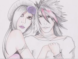 Couple 02 by RoxiaMagicGirl
