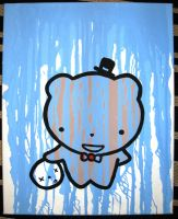 Daddy Bear Portrait -Formal by Robot-Romeo