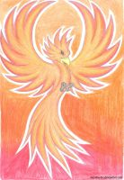 Simple Phoenix by Neo-The-Fox
