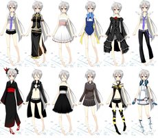 12 Versions of Yowane Haku by Kyleloverforever