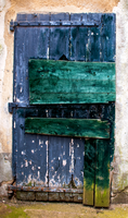 Colorful Door by LapinBlancFR