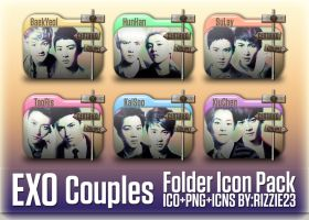 EXO Couples Folder Icon Pack by Rizzie23
