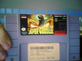 SNES Game-Super Godzilla by KZ-KW