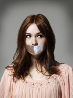 Karen Gillan tape gagged 2 by The-email