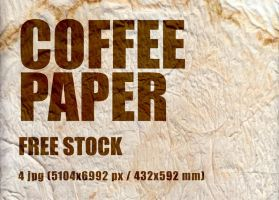 Coffee paper stock by skitalets