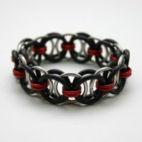 Stretchy Helm Bracelets II by Utopia-Armoury