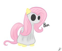 Fluttershy Doodle by Balloons504