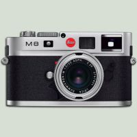 Leica M8 Silver Icon by Markus-Weldon