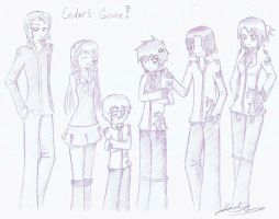 Ender's Game by Yumiko112