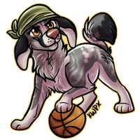 Wanna shoot some hoops? by xWolfPrincex