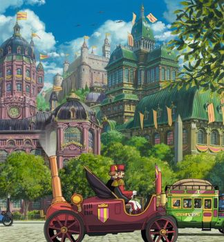 Howl's Moving Castle - The City Of The King by Messy-Mane