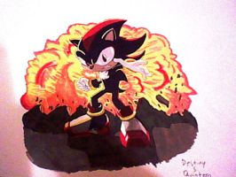 Shadow the hedgehog, like a boss by FanGirlDSQ