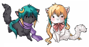 Fan Art Conkitties by Kelli Arthur by Kami-ConDA