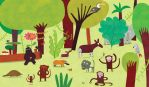 African forest by nicolas-gouny-art