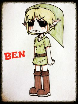 BEN Drowned by xKillErsHAvenx
