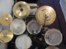 my Drum set. by ownerfate