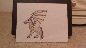 Example Reptilian Dragon Type by Amberstorm233