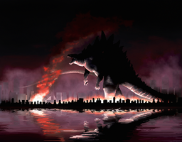 Godzilla: King of the Monsters by mattytuck